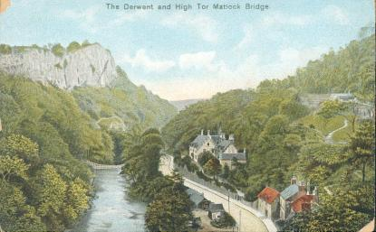 The Derwent and High Tor, Matlock Bridge