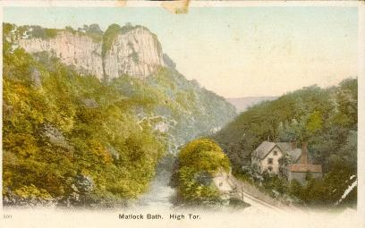 Matlock Bath, High Tor