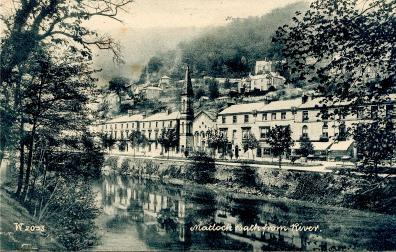 Matlock Bath from the River