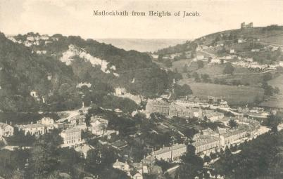 Matlock Bath from Heights of Jacob