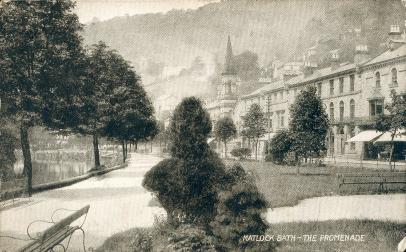 Matlock Bath, The Promendade