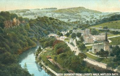 River Derwent from Lover's Walk, Matlock Bath