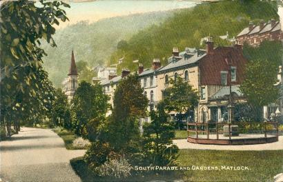 North Parade and Gardens, Matlock Bath