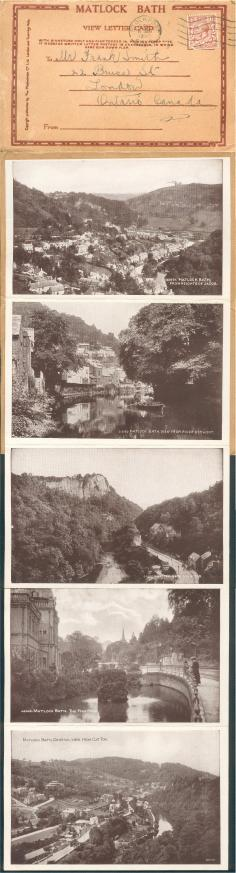 Matlock Bath, View Card